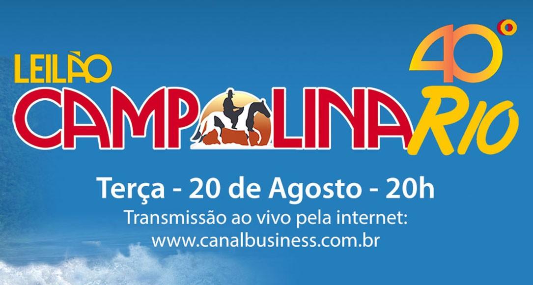 Leilão Campolina 40 Graus